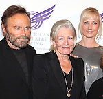 Franco Nero, Vanessa Redgrave & Joely Richardson attending the American Theatre Wing's annual gala at the Plaza Hotel on Monday Sept. 24, 2012 in New York.