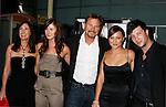 "HOLLYWOOD, CA. - September 03: Pamela Serpe, Vanessa Evigan, Greg Evigan and Briana Evigan  arrive at the Los Angeles premiere of ""Sorority Row"" at the ArcLight Hollywood theater on September 3, 2009 in Hollywood, California."