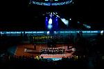 24.02.2019, SAP Arena, Mannheim<br /> Volleyball, DVV-Pokal Finale, Siegerehrung<br /> <br /> Ehrung Schiedsrichter, Schiri - aufgenommen mit der Remote Kamera<br /> <br />   Foto © nordphoto / Kurth