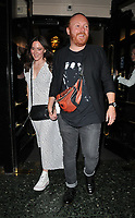 "Leigh Francis and Jill Carter at the ""Waitress"" cast change media night, Adelphi Theatre, The Strand, London, England, UK, on Tuesday 02nd July 2019.<br /> CAP/CAN<br /> ©CAN/Capital Pictures"