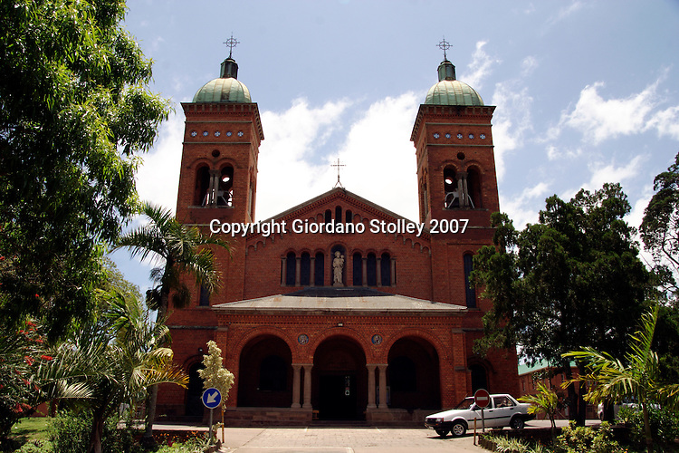 DURBAN - Veiw to the St Joseph Church at the Mariannhill Monastery about 20 kilometres from Durban. The monastery was founded by Abbot Franz Pfanner (1825-1909) in 1882..Picture: Giordano Stolley/Allied Picture Press