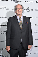 LONDON, UK. October 16, 2019: John Lanchester arriving for the Esquire Townhouse 2019 launch party, London.<br /> Picture: Steve Vas/Featureflash