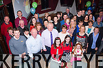 Time to relax<br /> ---------------<br /> Christy O'Mahony,The Spa,Tralee (front centre) had a great night celebrating his retirement from the Revenue offices,Tralee after 22yrs in O'Donnell's,Mounthawk,Tralee last Friday night along with family,friends and colleagues.