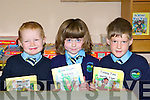 Daniel McMurray, Danielle O'Brien and Ronan O'Mahony who started school in Two Mile School, Fossa last week     Copyright Kerry's Eye 2008
