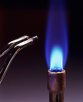 CALCIUM FLAME TEST<br />