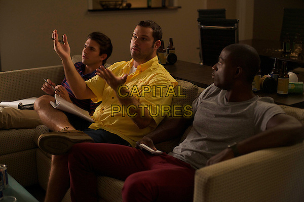 Miles Fisher, Max Adler, Sinqua Walls  <br /> in Believe Me (2014) <br /> *Filmstill - Editorial Use Only*<br /> CAP/FB<br /> Image supplied by Capital Pictures