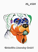 Interlitho-Alfredo, REALISTIC ANIMALS, REALISTISCHE TIERE, ANIMALES REALISTICOS, paintings+++++,rottweiler,KL4528,#a#, EVERYDAY ,dog,dogs