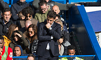 Watford Manager Marco Silva looks downbeat after his side concede during the Premier League match between Chelsea and Watford at Stamford Bridge, London, England on 21 October 2017. Photo by Andy Rowland.