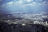 Sao Paulo, Brazil. Aerial view of city centre.