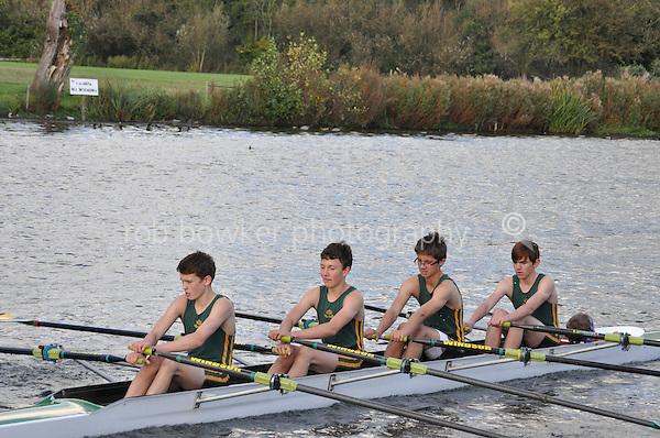 493 WBS .Reading Rowing Club Small Boats Head 2011. Tilehurst to Caversham 3,300m downstream. Sunday 16.10.2011