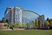 View from the Potomac River side of the Gaylord National Resort & Convention Center at National Harbor in Oxon Hill, Maryland on Monday, October 12, 2015.<br /> Credit: Ron Sachs / CNP