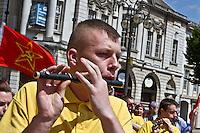 Vol Black Ryan RFB, <br /> Coatbridge United Irishmen Flute Band,<br /> The Gaughan Stagg Cumann (32CSM) <br /> Vol Charles Carrigan Cumman (32CSM Scotland), Erigi, <br /> Sammi Ibrahim (Former Palestinian POW) Communist Party GB ML, <br /> Birmingham Shamrock CSC,<br /> The Manchester Martyrs Committee, <br /> Anonymous <br /> RSF (Midlands)