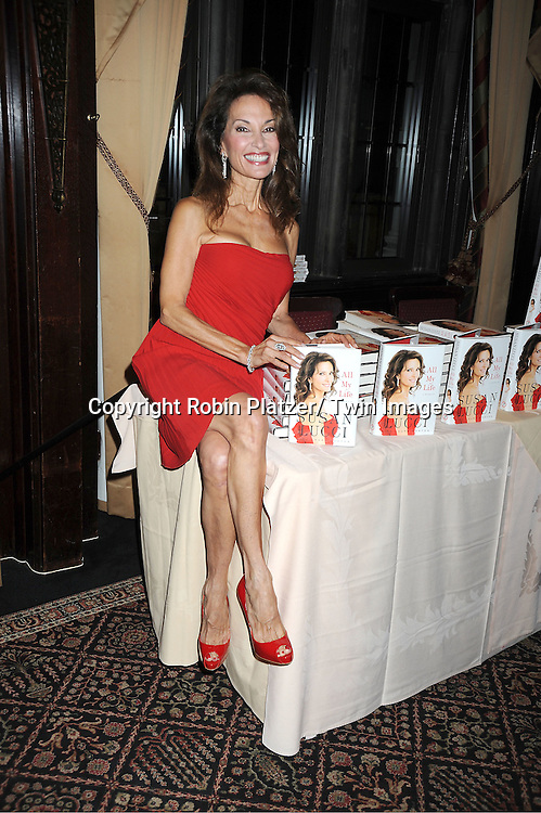 """Susan Lucci at her book signing for her new book """"All My Life""""  at The Friars Club in New York City on September 7, 2011."""
