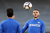 Mauro Icardi of Inter during the warm up<br /> Napoli 19-05-2019 Stadio San Paolo, <br /> Football Serie A 2018/2019 Napoli - Inter <br /> Foto Cesare Purini / Insidefoto