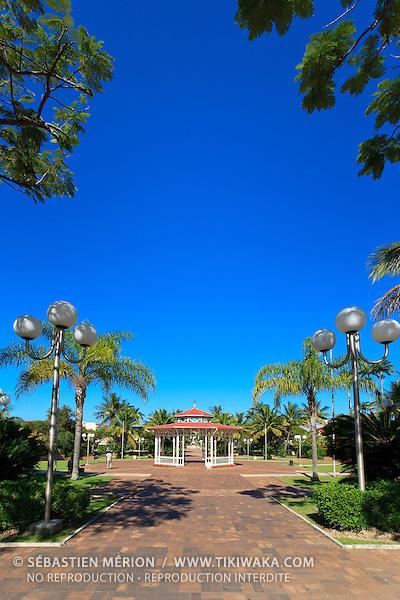 Kiosque à musique, place des cocotiers, Nouméa centre ville