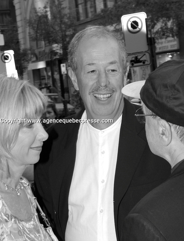 sept 2,  2003, Montreal, Quebec, Canada<br /> <br /> Denys Arcand<br /> <br /> The Montreal World Film Festival  pay tribute to noted Montreal producer Denise Robert.<br /> . Robert  receive the Special Prize of the Americas and three of her productions are shown within the framework of the tribute: Straight to the Heart, The Confessional and The Barbarian Invasions. <br /> <br /> The Festival runs from August 27th to september 7th, 2003<br /> <br /> <br /> Mandatory Credit: Photo by Pierre Roussel- Images Distribution. (&copy;) Copyright 2003 by Pierre Roussel <br /> <br /> All Photos are on www.photoreflect.com, filed by date and events. For private and media sales