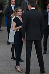 Spanish Royals King Felipe VI of Spain and Queen Letizia of Spain attend the `Santa Teresa de Jesus´ exhibition at National Library in Madrid, Spain. March 11, 2015. (ALTERPHOTOS/Victor Blanco)
