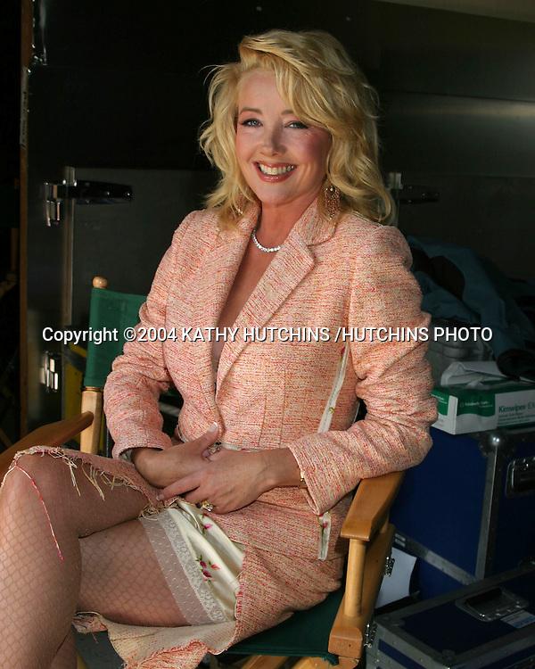 "©2004 KATHY HUTCHINS /HUTCHINS PHOTO.SET OF AN INDEPENDENT MOVIE ""FREEZERBURN"".BURBANK, CA.OCTOBER 1, 2004..MELODY THOMAS SCOTT"