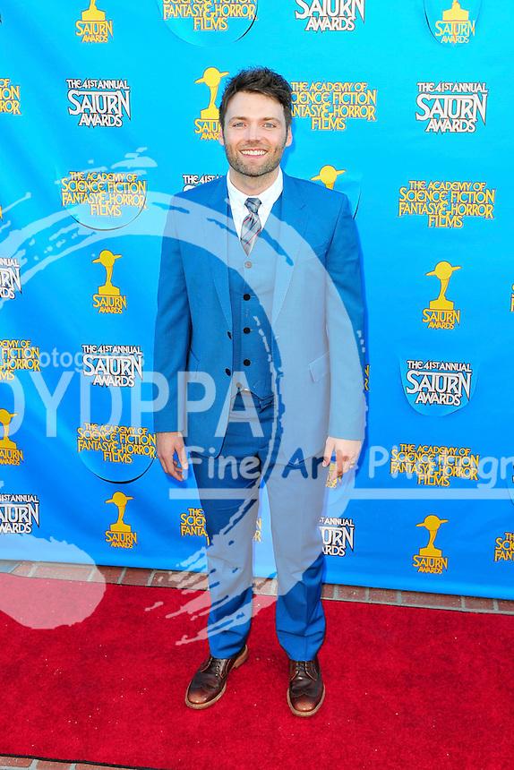 Seth Gabel bei der Verleihung der 41. Saturn Awards im Castaway. Burbank, 25.06.2015
