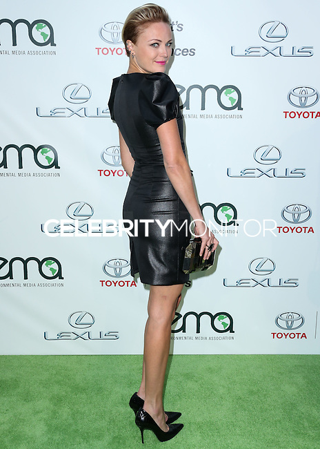 BURBANK, CA, USA - OCTOBER 18: Malin Akerman arrives at the 2014 Environmental Media Awards held at Warner Bros. Studios on October 18, 2014 in Burbank, California, United States. (Photo by Xavier Collin/Celebrity Monitor)