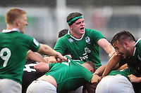 James Ryan of Ireland U20 in action at a maul. World Rugby U20 Championship match between New Zealand U20 and Ireland U20 on June 11, 2016 at the Manchester City Academy Stadium in Manchester, England. Photo by: Patrick Khachfe / Onside Images