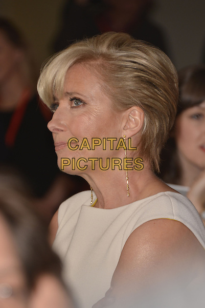 **Exclusive**<br /> LONDON, ENGLAND - MARCH 30: Emma Thompson attends the Jameson Empire Film Awards at Grosvenor House on March 30, 2014 in London, England.<br /> Emma reacts after overhearing a photographer asking: &quot;Is that Emma Watson?&quot; <br /> CAP/PL<br /> &copy;Phil Loftus/Capital Pictures