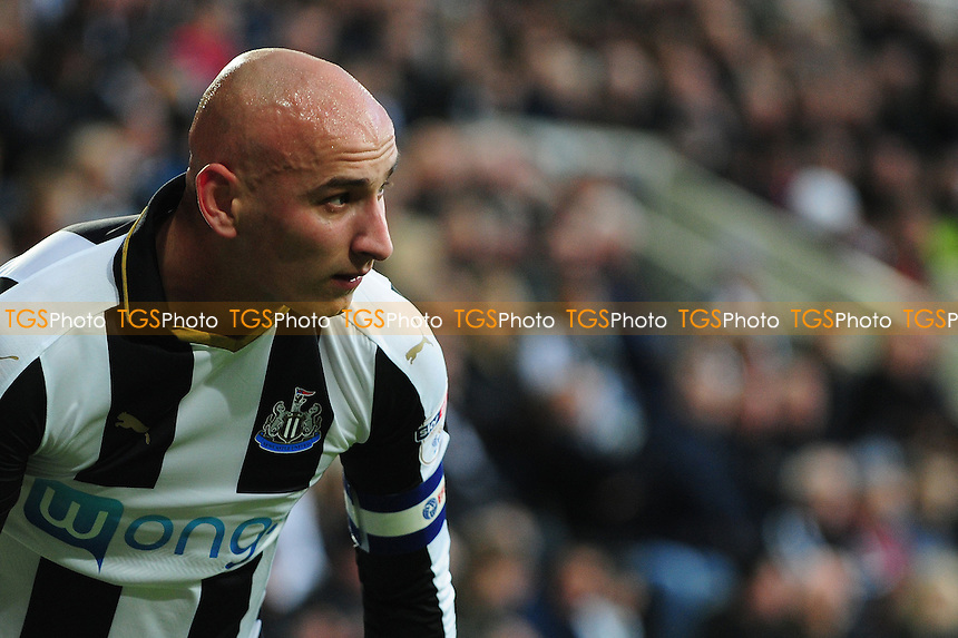 Newcastle United captain for the afternoon Jonjo Shelvey during Newcastle United vs Blackburn Rovers, Sky Bet EFL Championship Football at St. James' Park on 26th November 2016