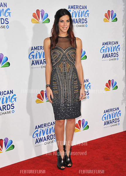 Jenna Morasca at the American Giving Awards at the Dorothy Chandler Pavilion in Los Angeles..December 9, 2011  Los Angeles, CA.Picture: Paul Smith / Featureflash