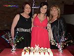 Ellen Branigan celebrating her 21st birthday in McHugh's with aunts Eilish Branigan and Mary Murphy. Photo:Colin Bell/pressphotos.ie