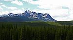 STORM MOUNTAIN, BANFF NATIONAL PARK, ALBERTA, CANADA,