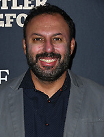 """04 February 2019 - Hollywood, California - Rizwan Manji. """"The Man Who Killed Hitler and Then the Bigfoot"""" Los Angeles Premiere held at Arclight Hollywood. Photo Credit: Birdie Thompson/AdMedia"""