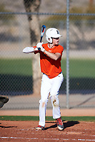 Quintin Kirch (44), from Indianapolis, Indiana, while playing for the Orioles during the Under Armour Baseball Factory Recruiting Classic at Red Mountain Baseball Complex on December 29, 2017 in Mesa, Arizona. (Zachary Lucy/Four Seam Images)