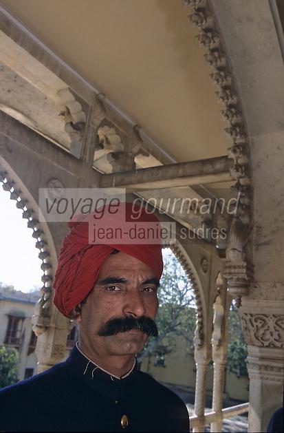 Asie/Inde/Rajasthan/Jaipur : Indien au musée du Maharadjah Sawai Mansingh Number Two