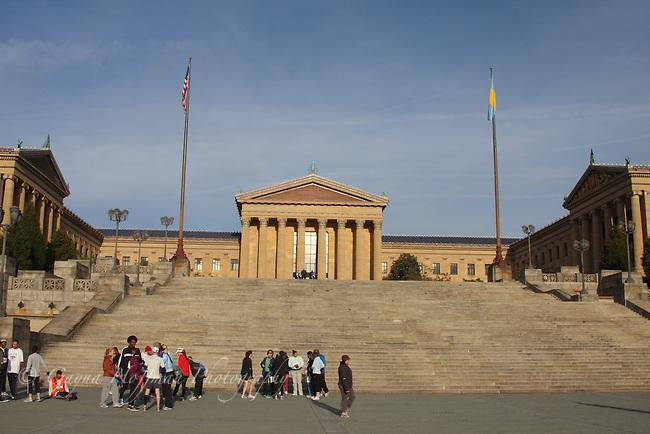 Philadelphia Museum of Art, exterior, PA,