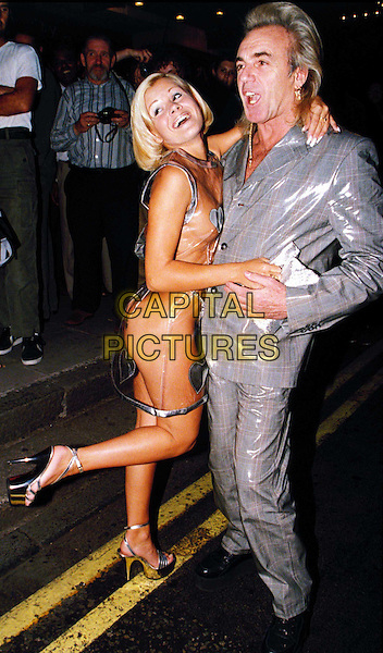 PETER STRINGFELLOW..Ref: 3092..fashion disaster, nude, naked, rubber, see through, see thru,..www.capitalpictures.com..sales@capitalpictures.com..©Capital Pictures