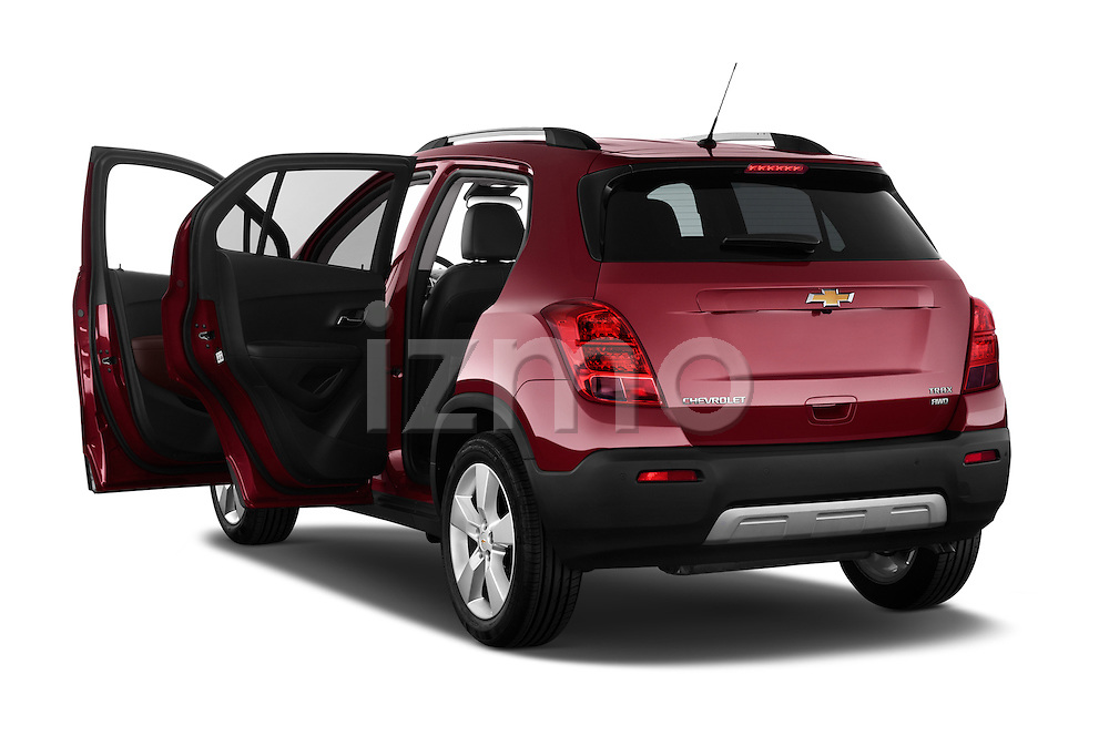 Rear three quarter door view of a 2013 Chevrolet TRAX LT+ 5 Door Suv 2WD
