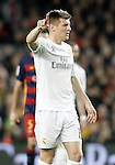 Real Madrid's Toni Kroos during La Liga match. April 2,2016. (ALTERPHOTOS/Acero)