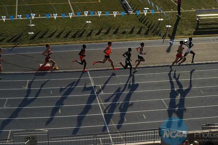 06 JUNE 2012: The Division I Men's and Women's Outdoor Track and Field Championship held at Drake Stadium on Drake University in Des Moines, IA. Stephen Nowland/NCAA Photos