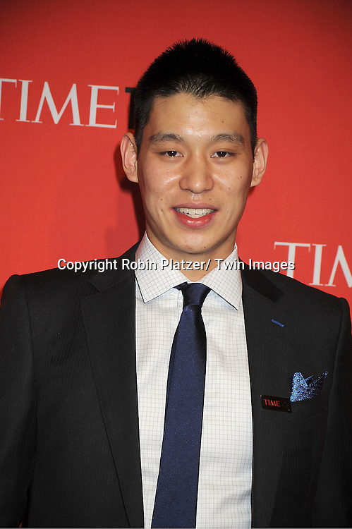Jeremy Lin attends The Time 100 Most Influential People in the World Gala on April 24, 2012 at Frederick P Rose Hall at Lincoln Center in New York City. .