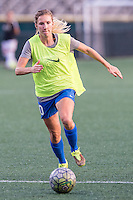 Allston, MA - Wednesday Sept. 07, 2016: Louise Schillgard during a regular season National Women's Soccer League (NWSL) match between the Boston Breakers and the Western New York Flash at Jordan Field.