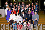 CHRISTENED: Yvonne and Edawrd Byrne Muing, Tralee. who had their baby Asling Byrne christened in St John's Church, Tralee on Saturday, and afterward in a reception was held in  Turners Bar, Tralee for Aisling...........