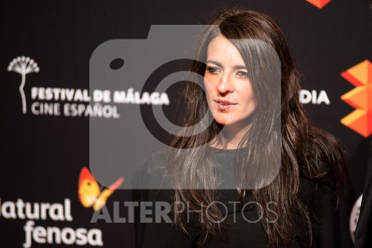 Bebe attends to the cocktail presentation of the XIX Malaga Film Festival at Circulo de Bellas Artes in Madrid. April 06, 2016. (ALTERPHOTOS/Borja B.Hojas)
