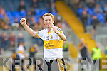 YES WE'VE DONE IT! Colm Cooper celebrates at the final whistle as Crokes beat Stacks by a point in a pulsating game in Fitzgerald Stadium on Sunday