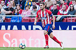 Jorge Resurreccion Merodio, Koke, of Atletico de Madrid in action during the La Liga 2017-18 match between Atletico de Madrid and Athletic de Bilbao at Wanda Metropolitano  on February 18 2018 in Madrid, Spain. Photo by Diego Souto / Power Sport Images