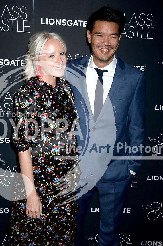 Nicki Chapman und Destin Daniel Cretton bei der Premiere des Kinofilms 'The Glass Castle / Schloss aus Glas' im SVA Theater. New York, 09.08.2017