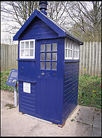 BNPS.co.uk (01202 558833)<br /> Pic: AmberleyPublishing/BNPS<br /> <br /> A wooden police box (kiosk) from Coventry, now preserved and on display at Avoncroft Museum of Historic Buildings.<br /> <br /> The iconic British phonebox has been given a ringing endorsement in a new book charting the expiring institution's fascinating history. <br /> <br /> Aptly titled 'The British Phonebox', the book primarily focuses on the ubiquitous design that's as emblematic to Britain as the black cab, double decker bus and Houses of Parliament. <br /> <br /> Equally interesting are the early chapters, which detail the phonebox's humble 19th century beginnings and the final ones, that bemoan their dwindling numbers <br /> <br /> The 96 page paperback, jointly authored by friends Nigel Linge and Andy Sutton, is published by Amberley and costs &pound;13.49.