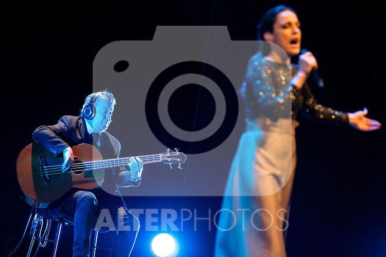 Singer Carminho during the V Mado Festival Madrid at Theatre Canal in Madrid, Spain. June 26, 2015.<br />  (ALTERPHOTOS/BorjaB.Hojas)