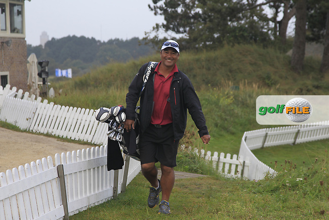 during Round 4 of the KLM Open at Kennemer Golf &amp; Country Club on Sunday 14th September 2014.<br /> Picture:  Thos Caffrey / www.golffile.ie