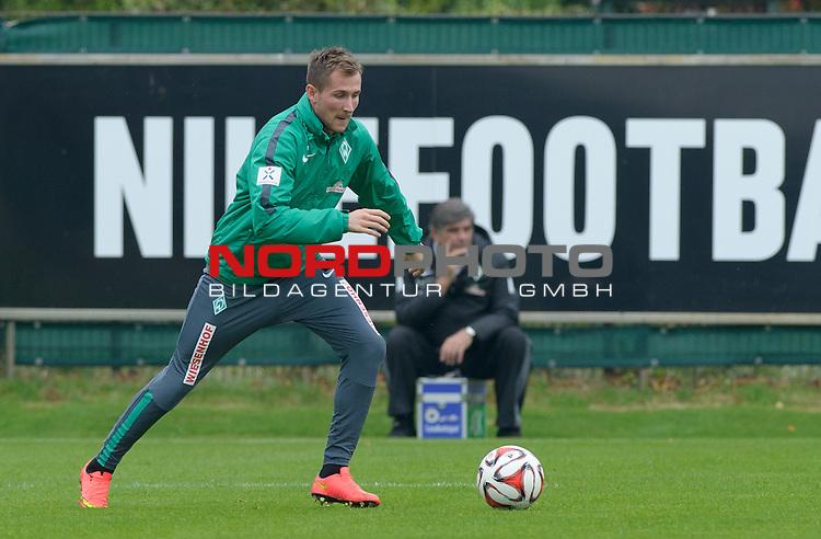 26.09.2014, Trainingsgelaende, Bremen, GER, 1.FBL, Training Werder Bremen, im Bild Izet Hajrovic (Bremen #14)<br /> <br /> Foto &copy; nordphoto / Frisch