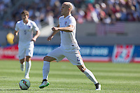 Carson, CA - Sunday, February 8, 2015: Michael Bradley (4) of the USMNT. The USMNT defeated Panama 2-0 during an international friendly at the StubHub Center